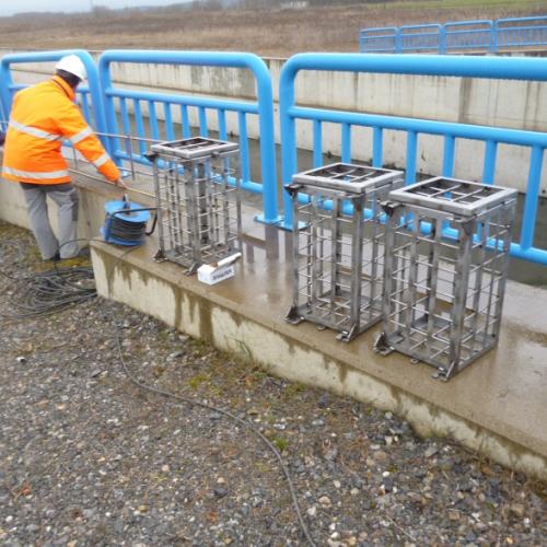 ALNUS 2005, SL instala una barrera sónica en el canal de Payuelos
