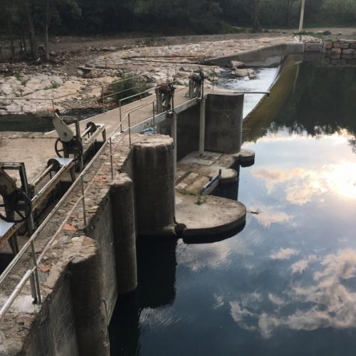 Suministro de una barrera sónica de peces ALNUS-BSP en la central del río Ter en Ripoll (Girona)